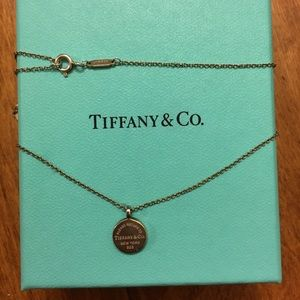 Tiffany & co Return to Tiffany circle necklace